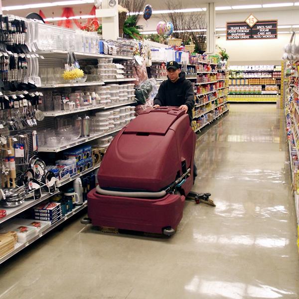 grocery floor
