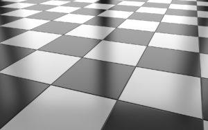 photo of vinyl composition tile flooring